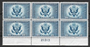 Doyle's_Stamps: MNH 1934 XF-S Air Post Special Delivery PNB 16c Scott #CE1**