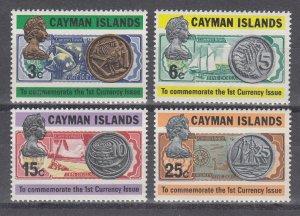 Cayman Islands Scott #306-309 MNH