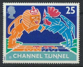 Great Britain SG 1820  Used  - Channel Tunnel