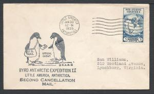 733, Byrd Antarctic Expedition, Dedication & Misc Events