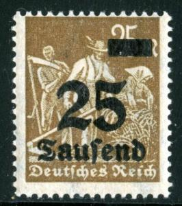 GERMANY #247 - MINT NEVER HINGED - 1923 - GER220