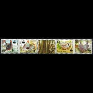YUGOSLAVIA 2000 - Scott# 2479 WWF-Birds Set of 4 NH