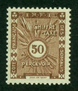 Somali Coast 1938 #J16 MH SCV(2018)=$0.65