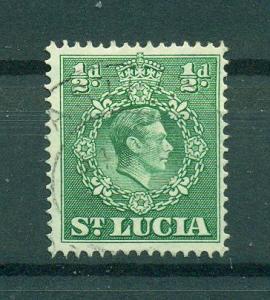 St. Lucia sc# 110 (2) used cat value $.25