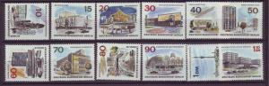 J20706 Jlstamps 1965-6 berlin germany set mnh #9n223-34 new berlin