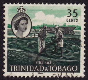 Trinidad & Tobago - 1960 - Scott #98 - used - Lake Asphalt