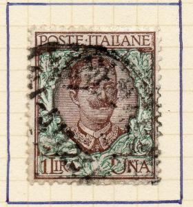 Italy 1901 Early Issue Fine Used 1L. 298619