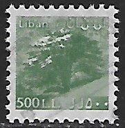 Lebanon # 541a - Cedar Tree - used....{BLW9}