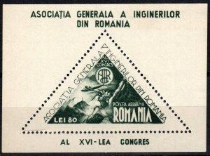 Romania #C22 F-VF Unused CV $17.50 (P710)