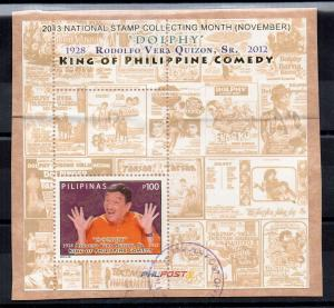 PHILIPPINES - DOLPHY - KING OF COMEDY - 2013 - Used / Unstucked - M/S -