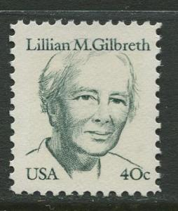 USA - Scott 1868- Great Americans -1980- MNG - Single 40c Stamp