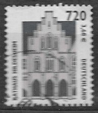 Germany  used -    2001  with number on backside from role