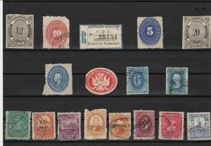 mexico old  stamps ref r11717
