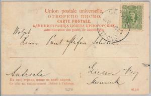 66011 - MONTENEGRO  - POSTAL HISTORY: POSTCARD to AUSTRIA  1908
