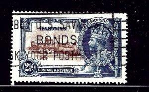 Bahamas 93 Used 1935 KGV Silver Jubilee