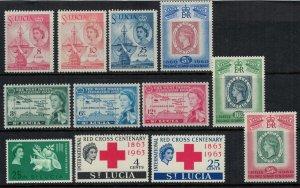 St. Lucia #170-81*  CV $6.05