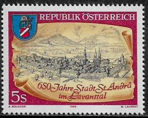 Austria #1462 MNH Stamp - St. Andra im Lavanttal