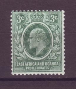 J20961 Jlstamps 1907-8 E.africa & uganda proct mlh #32 king gray green