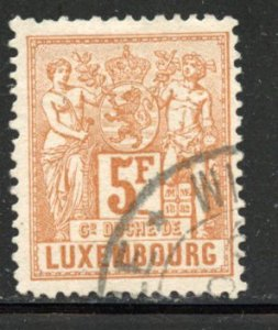 Luxembourg # 59, Used. CV $ 160.00