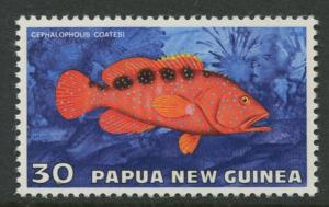 Papua New Guinea- Scott 444 - General Issue -1976 - MNH - Single 30t Stamp