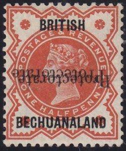 Bechuanaland 1888-1890 SC 53c MLH Certificate