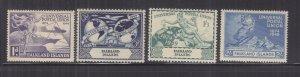FALKLAND ISLANDS, 1949 UPU set of 4, mnh.