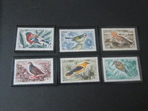 Lebanon 1965 Sc 434-9 Bird set MNH