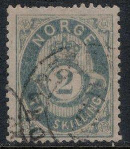 Norway #17b  CV $30.00