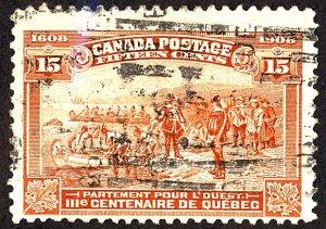 Canada #102 Used