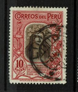 Peru SC# C39 Used / Sm Hinge Rem - S7274