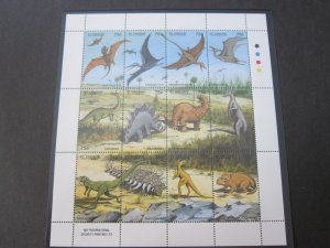 St Vincent 1994 Sc 2046 Bird,Dinosaurs set MNH