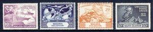 Malaya (Selangor) - Scott #76-79 - MNH - SCV $4.90