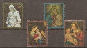 ASCENSION SG527/30 1990 CHRISTMAS MNH