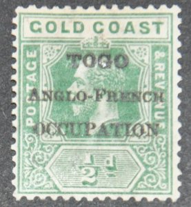 DYNAMITE Stamps: Togo Scott #80  – MINT hr
