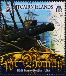Pitcairn Islands. 2007 40c Fine Used