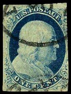 U.S. 1851-57 ISSUE 9  Used (ID # 37287)