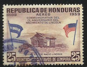 Honduras Air Mail 1959 Scott# C296 Used