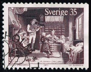 Sweden #906 Christmas Customs; Used (1.25)