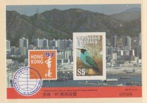 Trinidad & Tobago Scott #517ab Stamps - Mint NH Souvenir Sheet