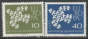 GERMANY 844-45 MNH EUROPA CH1-99-1