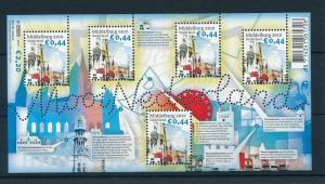 [16567] Netherlands 2010 Beautifull Holland Middelburg Church Sheet MNH