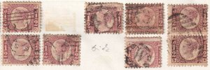 GREAT BRITAIN SC 58 PLATE 6 SOUND x8 $176 SCV MOUNTED ONE PAIR