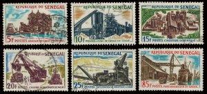 Senegal Scott 230-235 Used.