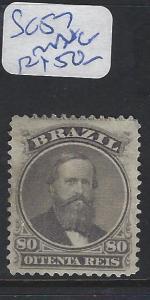 BRAZIL (P0303BB)  DOM PEDRO 80R  SC 57   MNG