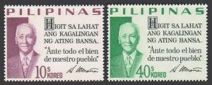 Philippines 883G-883H,MNH.Michel 923-924. President Sergio Osmena,1970.