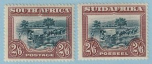 SOUTH AFRICA 30a AND 30b  MINT HINGED OG * NO FAULTS EXTRA FINE! - X981