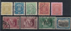 Mozambique collection of 9 mint & used stamps