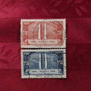 France 311-2 VF-XF set, CV $11.50