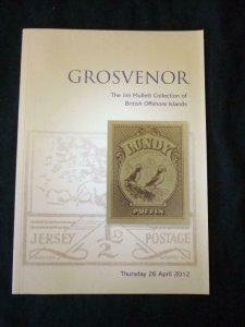 GROSVENOR AUCTION CATALOGUE 2012 MULLETT COLLECTION OF BRITISH OFFSHORE ISLANDS