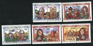 St. Vincent Grenadines - Union Island #2-6   Mint,NH VF 1984 PD